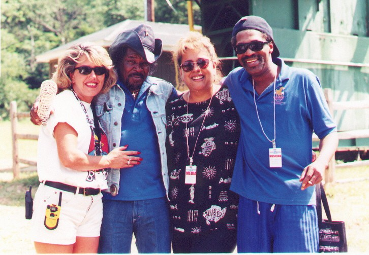 Elise O'Brien, Eddie King, BC, Donald Kinsey - Spring Mtn. Blues Festival